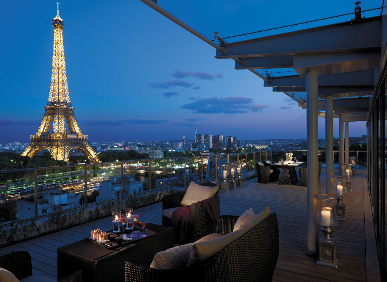 Hotel de luxe paris voyages cartes for Hotel luxe france